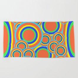 Mod - Colorful Circles Beach Towel