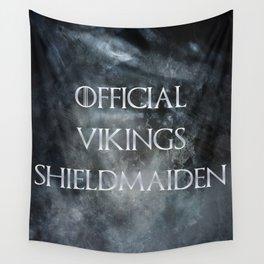 Shieldmaiden Wall Tapestry