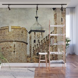 Tower of London Art Wall Mural