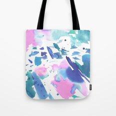 Watercolor Splash Tote Bag