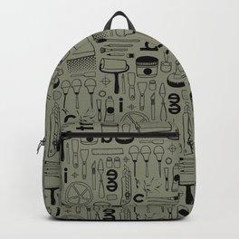 BIENNALE_COMBO_KHAKI_NOIR Backpack