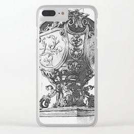 vase ornée Clear iPhone Case
