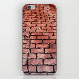 Vintage Brick Street iPhone Skin
