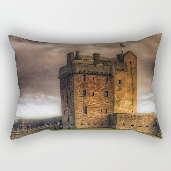 Broughty Ferry Castle Rectangular Pillow