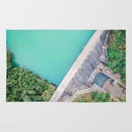 Dam of Reservoir Rug