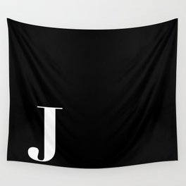 Initial J Wall Tapestry