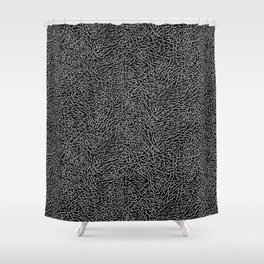 Elephant Print Shower Curtain