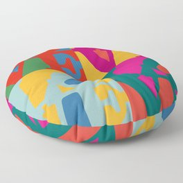 Love Pop Art Floor Pillow