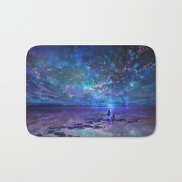 Ocean, Stars, Sky, and You Bath Mat