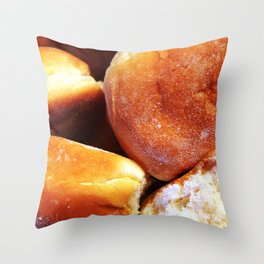 When the Roll is Called Up Yonder Throw Pillow