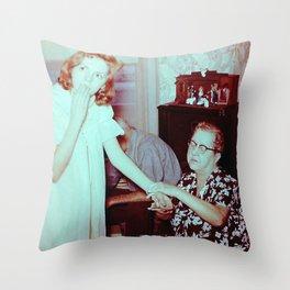Surprise Watch Throw Pillow