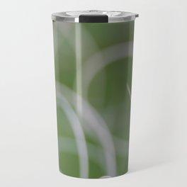 Abstract Image of Green Palm Leaves  Travel Mug