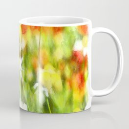 The Colors Of Spring On A Sunny Day Watercolor Coffee Mug