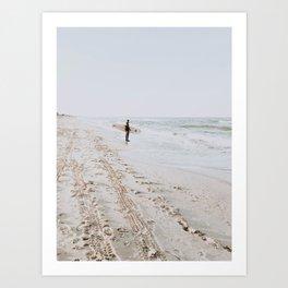 Lets Surf VII Art Print