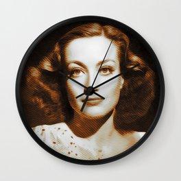 Joan Crawford, Hollywood Legends Wall Clock