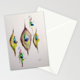Paon Pattern Stationery Cards