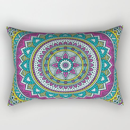 Hippie mandala 31 Rectangular Pillow