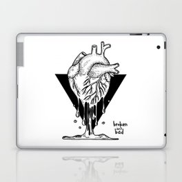 Pour your heart into everything you do Laptop & iPad Skin