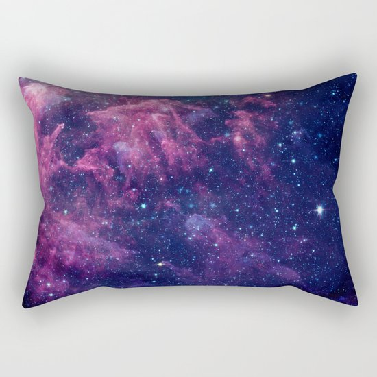 Space nebula Rectangular Pillow