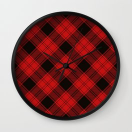 Clan Ewing Tartan Wall Clock