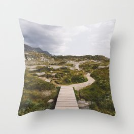Wanderlust w/o Type Throw Pillow