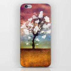 ATMOSPHERIC TREE - Pick me a cloud... iPhone Skin