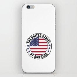 The United States of America - USA iPhone Skin
