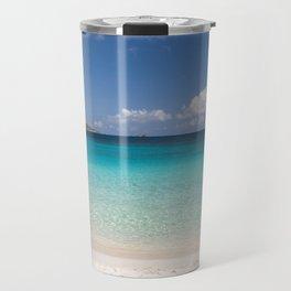 Trunk Bay Beach Travel Mug