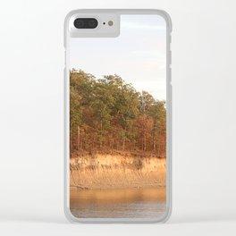 Wolf Creek Park Bluff Clear iPhone Case