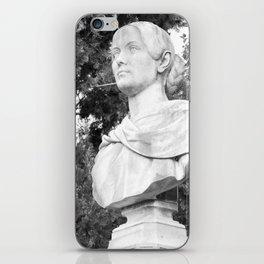 female statue iPhone Skin