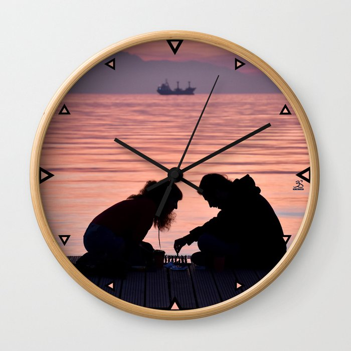 Lovely chess Wall Clock