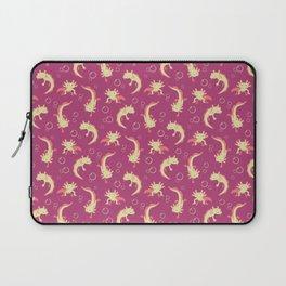 Relaxolotl - Rose Pink Laptop Sleeve