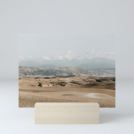 Desert magic Morocco   Nature photography art print Mini Art Print