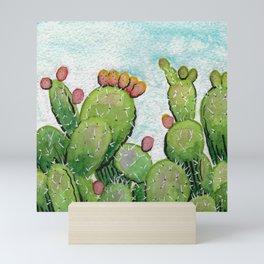 Cactus Pears Watercolor Mini Art Print
