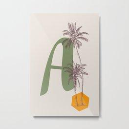 A Metal Print