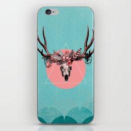 Vintage Deer Skull iPhone Skin