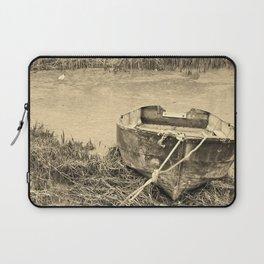 Row Boat (Sepia) Laptop Sleeve