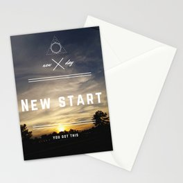 New Start Stationery Cards