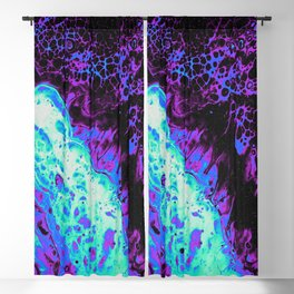 THROW DOWN THE ROSES Blackout Curtain