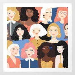 Girls 01 Art Print