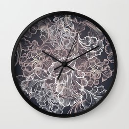 Design in classic Victorian style Wall Clock