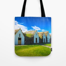 Traditional icelandic farmhouse Tote Bag