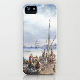 Carlo Bossoli View of Istanbul iPhone Case