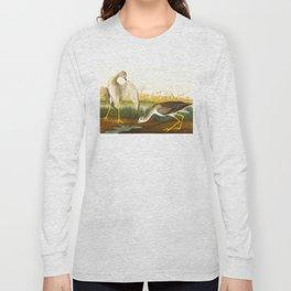 Tell-tale Godwit, or Snipe Bird Long Sleeve T-shirt