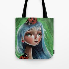 The Lady Bug Tote Bag