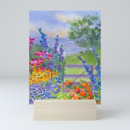 Celia Thaxter Garden at Isle of Shoals Mini Art Print