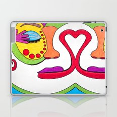 False face must hide what the false heart doth know. Laptop & iPad Skin