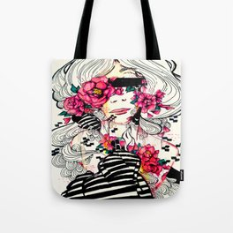 Flowers For Ethos Tote Bag
