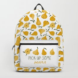 Yellow pear Backpack
