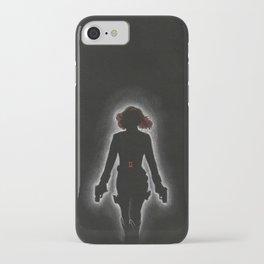 The Black Widow iPhone Case